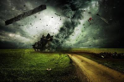 Nighttime Terror Poster by Jonny Lindner