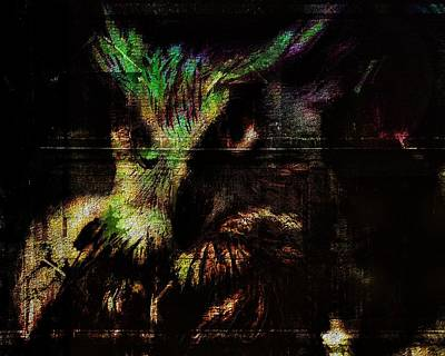 Nightvision Poster by Mimulux patricia no No