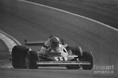 Niki Lauda. 1977 French Grand Prix Poster
