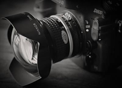 Nikkor 15mm Ultrawide Lens Poster by Matt Plyler