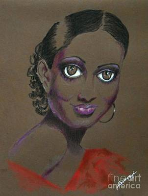 Nina Mae -- African-american Actress Portrait Poster