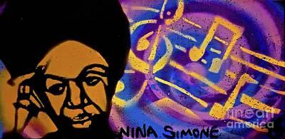 Nina Simone Music Poster