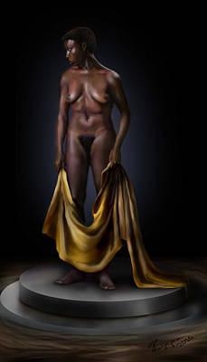 Nina Simone-potters Wheel Poster by Reggie Duffie
