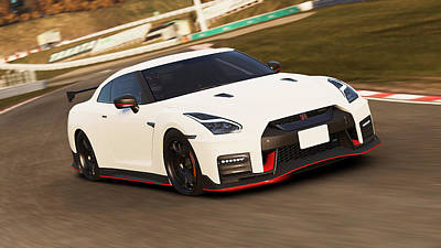 Nissan Gt-r Nismo - 02  Poster