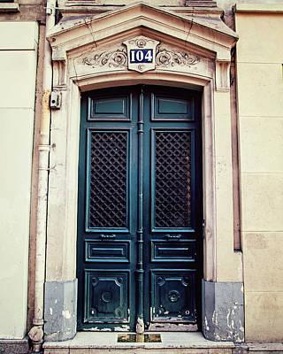 No. 104 - Paris Doors Poster by Melanie Alexandra Price