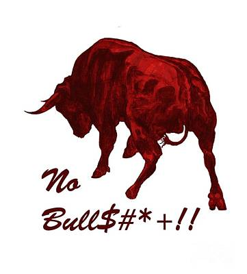No Bullshit Poster