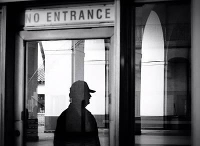 No Entrance Poster