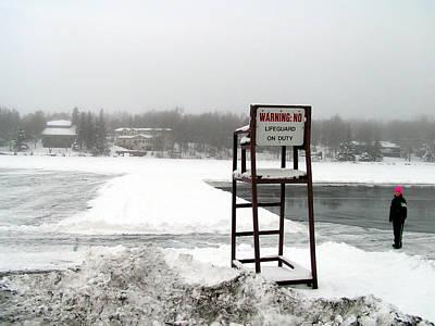 No Lifeguard On Duty  Poster