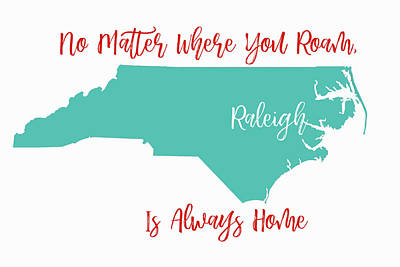 No Matter Where You Roam 3 Poster by Paulette B Wright