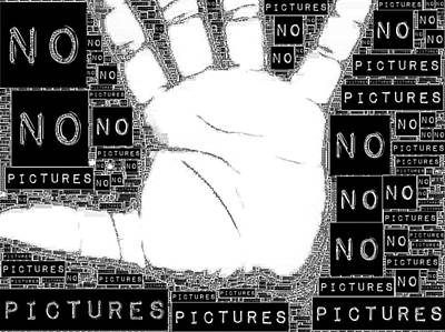 No Pictures Poster