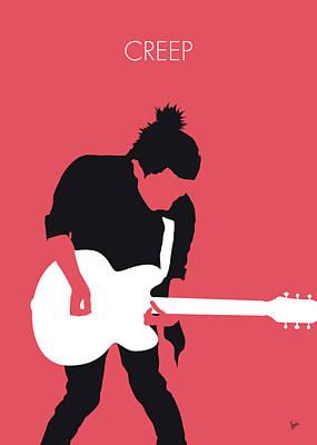 No062 My Radiohead Minimal Music Poster Poster by Chungkong Art