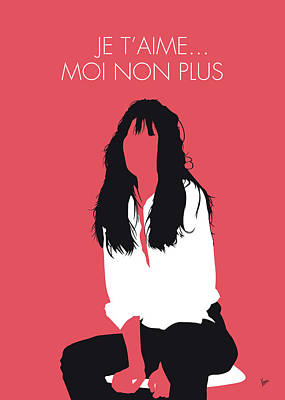 No072 My Birkin Minimal Music Poster Poster by Chungkong Art