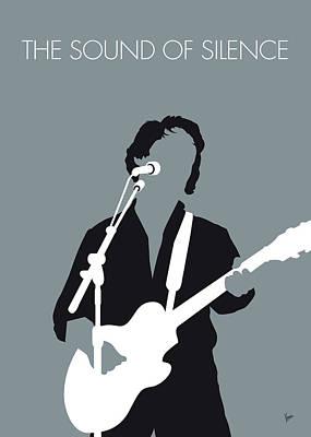 No097 My Paul Simon Minimal Music Poster Poster