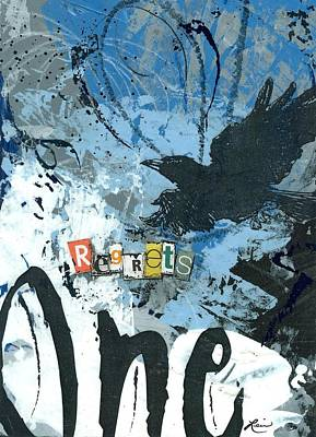 No.1 Regrets Poster by Laura Lein-Svencner