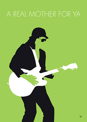 No106 My Johnny Guitar Watson Minimal Music Poster Poster