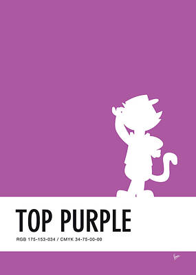 No11 My Minimal Color Code Poster Top Cat Poster
