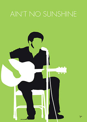 No156 My Bill Withers Minimal Music Poster Poster