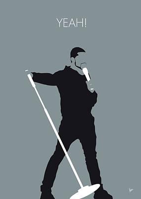 No207 My Usher Minimal Music Poster Poster