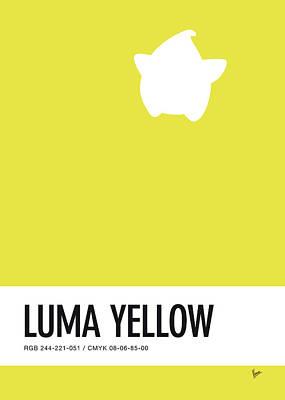 No40 My Minimal Color Code Poster Luma Poster by Chungkong Art