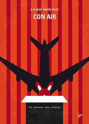 No446 My Con Air Minimal Movie Poster Poster by Chungkong Art