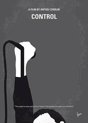 No508 My Controle Minimal Movie Poster Poster by Chungkong Art