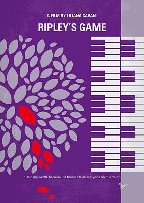 No546 My Ripleys Game Minimal Movie Poster Poster by Chungkong Art