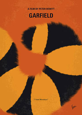 No714 My Garfield Minimal Movie Poster Poster