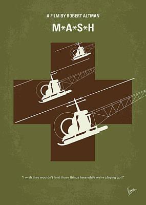 No733 My Mash Minimal Movie Poster Poster by Chungkong Art