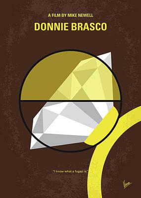 No766 My Donnie Brasco Minimal Movie Poster Poster