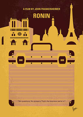No801 My Ronin Minimal Movie Poster Poster