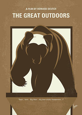 No824 My The Great Outdoors Minimal Movie Poster Poster