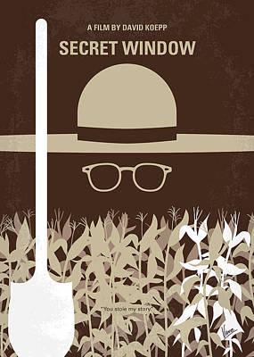 No830 My Secret Window Minimal Movie Poster Poster