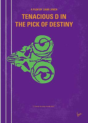 No863 My The Pick Of Destiny Minimal Movie Poster Poster