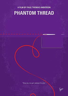 No904 My Phantom Thread Minimal Movie Poster Poster