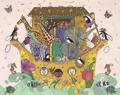 Noah's Ark Poster by Dee Van Houten