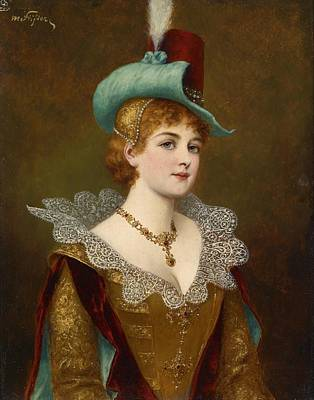 Noble Woman Poster by Moritz Stifter