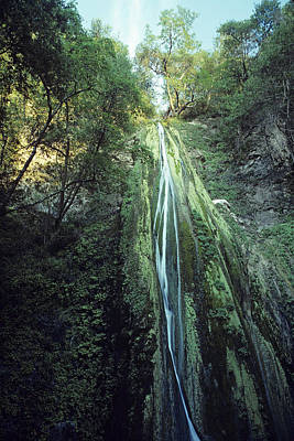 Poster featuring the photograph Nojoqui Falls by Gary Brandes