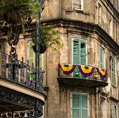 Nola Balcony Poster