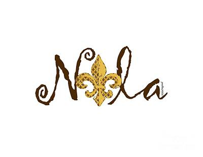Nola In Brown Poster