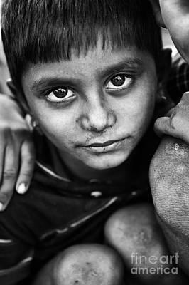 Nomadic Rajasthan Boy Poster by Tim Gainey