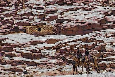 Nomads Of The Sinai Desert Poster