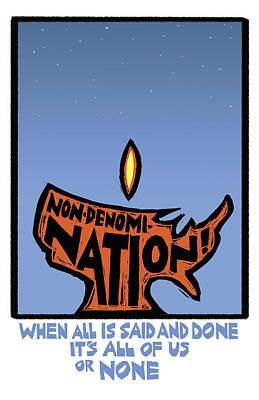 Non-denomination Poster