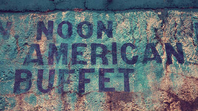 Noon American Buffet Poster by Toni Hopper
