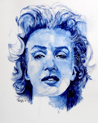 Norma Jean Poster by William Walts
