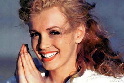 Norma Jeane Mortenson, Marilyn Monroe Poster