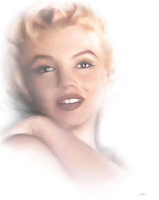 Norma Jeane Poster by Peter Chilelli