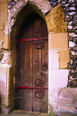 Norman Church Door Poster by Gordon Wood