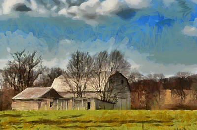 Norman's Homestead Poster by Trish Tritz