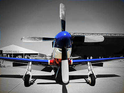 North American P-51 Mustang  V2 Poster