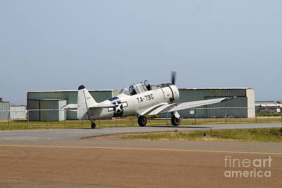 North American T6 Texan Military Aircraft 7d15784 Poster by Wingsdomain Art and Photography